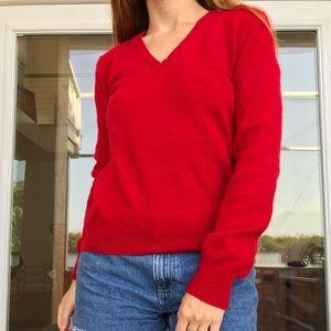 Ralph Lauren Red Cashmere Sweater